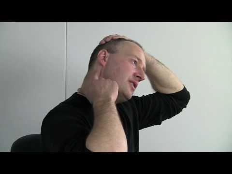 afspændingsøvelser nakke skuldre
