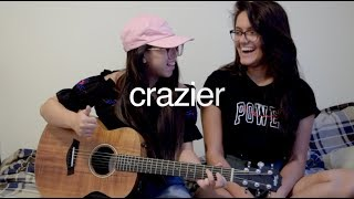 crazier taylor swift cover ft mallika