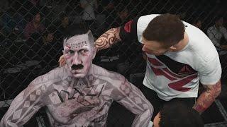 АРХИВ: Сыграл с Адольфом Гитлером в EA Sports UFC 2 ^_^ Жду всех в ВС