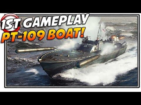 War Thunder PT-109 Gameplay (War Thunder Gamescom event)
