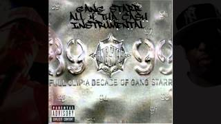 Gang Starr - All 4 Tha Cash (Instrumental) HD