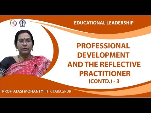 Professional Development and The Reflective Practitioner (Contd.)