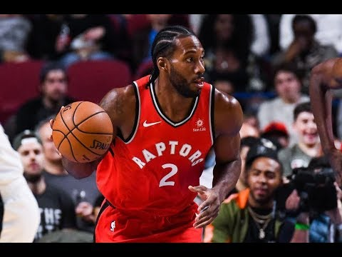 10-17-2018 Cleveland Cavaliers @ Toronto Raptors Kawhi Leonard Raptors Debut!!!