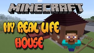 Minecraft - My Real Life House Tour  - Movie Theater In Basement
