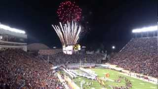 2012-11-08 - Virginia Tech vs Florida State - Hokie Enter Sandman Entrance
