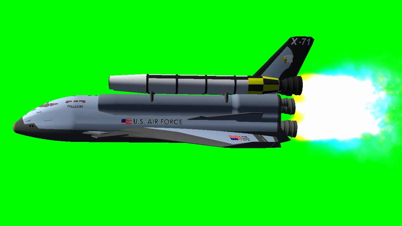 Armageddon Space Shuttle Freedom from the movie - green ...