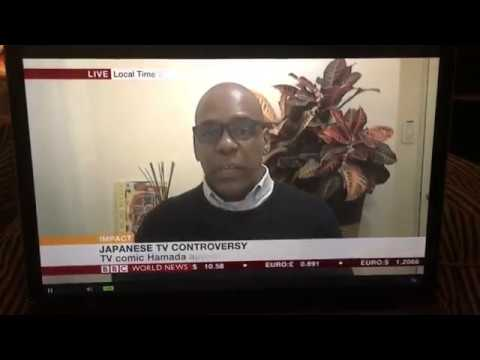 Baye McNeil Discussing Blackface in Japan LIVE on BBC World News