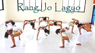 Rang Jo Lagyo | Contemporary Dance Choreography | By Tantrum Dance Academy