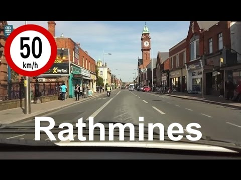 Dash Cam Ireland - Rathmines Road Upper and Lower, Dublin