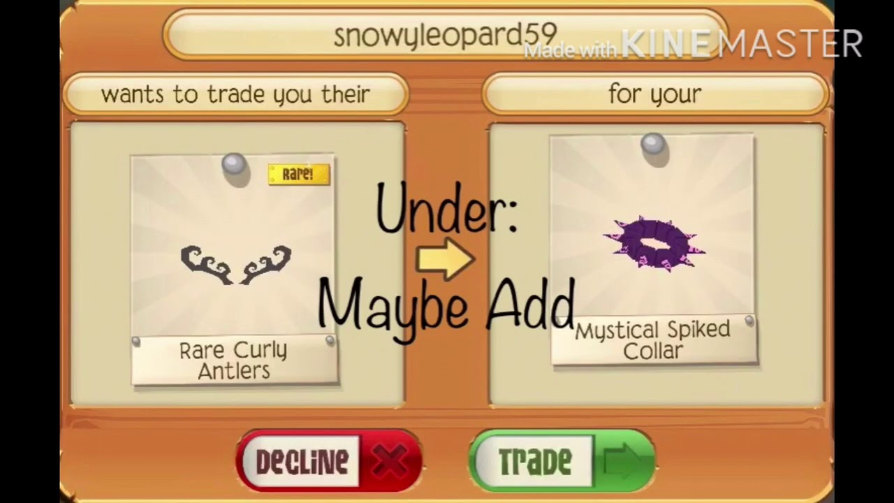 Animal Jam Play Wild - Trade Attempts for Mystical Spike!