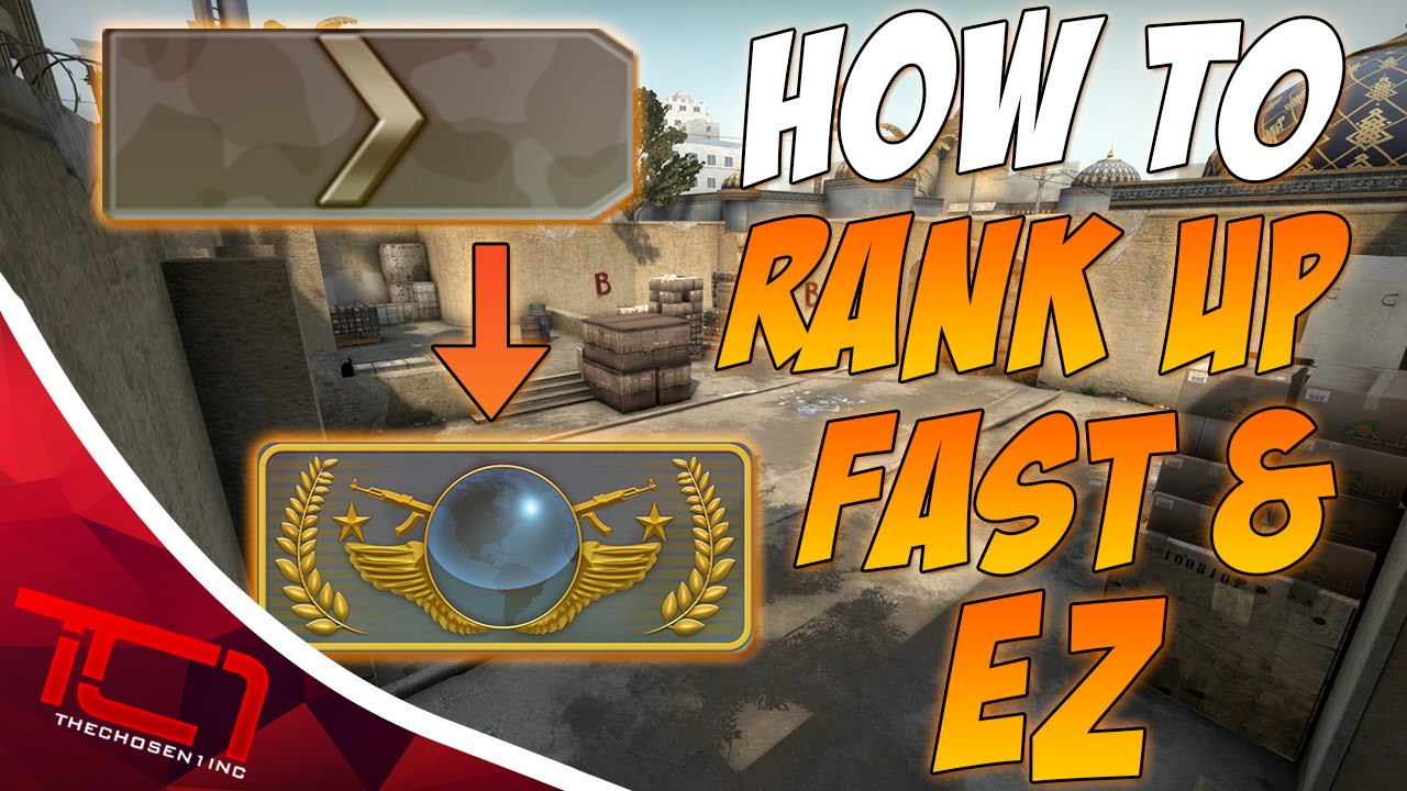 how to rank up in cs go competitive fast