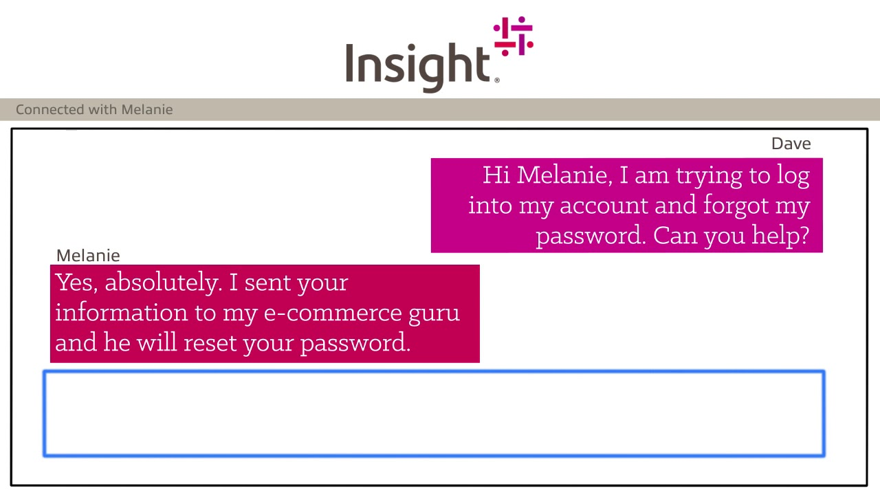 Insight Service Chat - Account Service