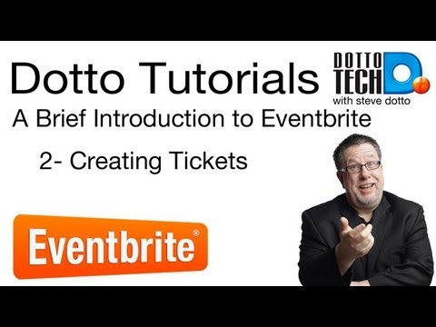 Eventbrite Tutorial 2 - Tickets