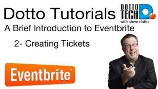 Eventbrite Tutorial 2 - Tickets