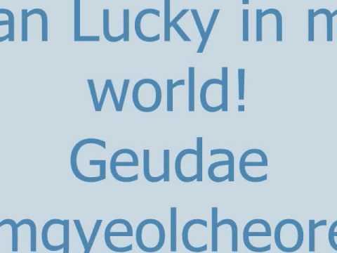 Lucky Lyrics By Ashily