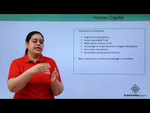 Human Capital Formation In India - Introduction