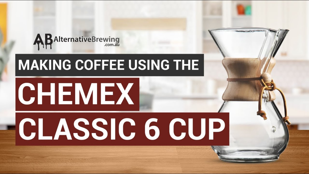 Making Coffee using the Chemex Classic 6 Cup