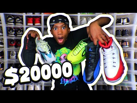 MY EPIC SHOE COLLECTION + HOW TO START A SNEAKER COLLECTION FOR CHEAP IN 2019! 😳🔥