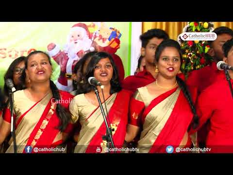 15TH DIOCESAN CAROL SINGING COMPETITION COLLEGES CATEGORY @ MYSORE, KA, INDIA 01-12-2019