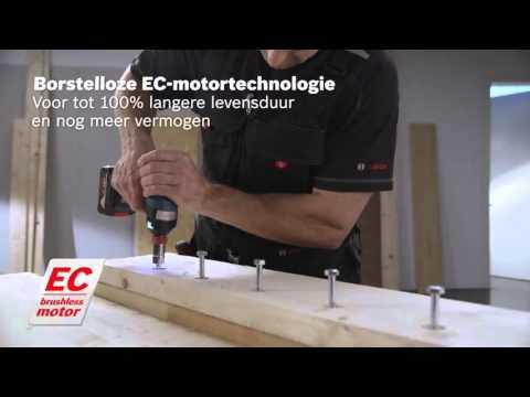 Bosch Accudraaislagmoeraanzetter GDX 14,4 V-EC / GDX 18 V-EC Professional
