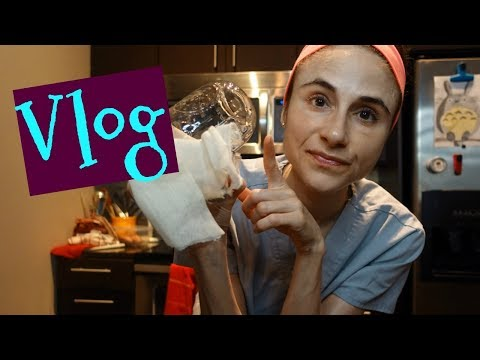 Vlog: Day in the life, Sprouts, CosRx Nourishing Rice Mask, | Dr Dray