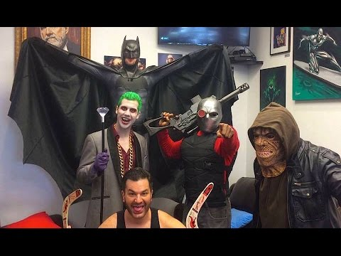 Batman, Joker & Suicide Squad Characters Wreak Havoc in Real Life! DC Parody