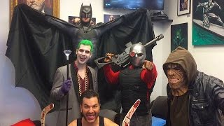 Batman, Joker & Suicide Squad Characters Wreak Havoc in Real Life! DC Parody - MELF