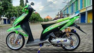 Modifikasi Honda Vario 110 Super Green