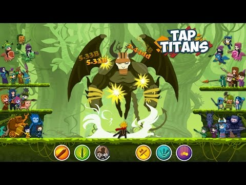 Tap Titans - Краткий Гайд Об Игре