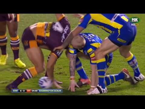 Rugby League World Club Series 2017   Warrington Wolves v Brisbane Broncos