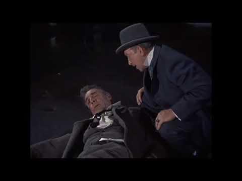 Carson City (1952) - Brawl Fight (Randolph Scott's Introduction)