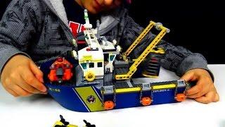 NAVE ESPLORAZIONI SOTTOMARINE LEGO CITY - Leo Toys