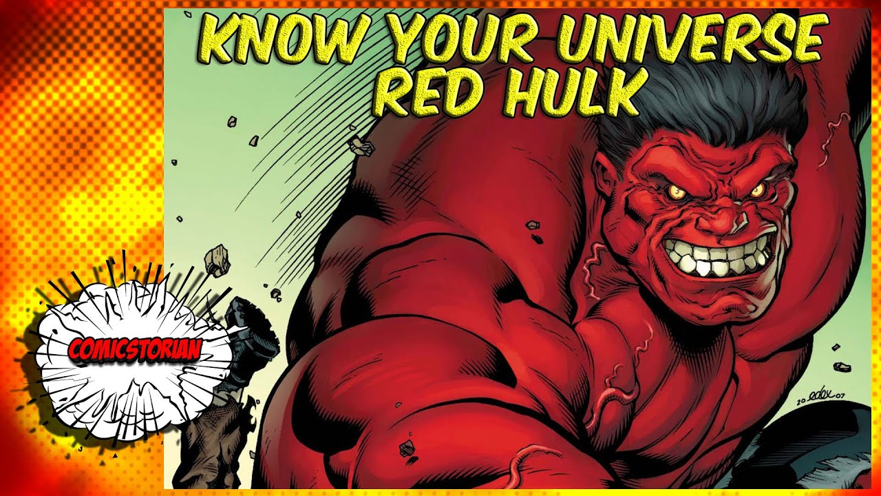 Red hulk know your universe youtube - Pictures of red hulk ...