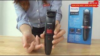 Review máy tạo kiểu râu dùng pin Philips QT4005 giá 799.000đ