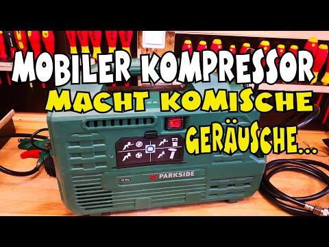 Parkside Compressor Test