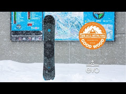 K2 Broadcast Review: Men's All-Mountain Winner – Good Wood Snowboard Test 2018-2019