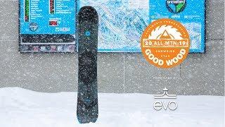 K2 Broadcast Review: Men's All-Mountain Winner – Good Wood Snowboard Test 2018-2019