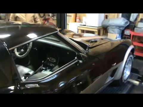 Broken Hood Release 1979 Corvette Youtube