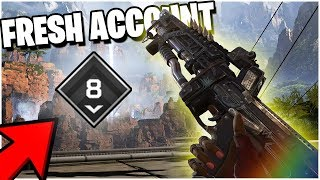 THIS is What its Like Playing on a NEW Account... (Apex Legends PS4)