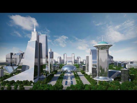 Yangi Toshkent city qurilishi boshlandi. Loyiha bilan tanishing