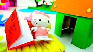 Видео для детей: Домик для КИТТИ! Поделки