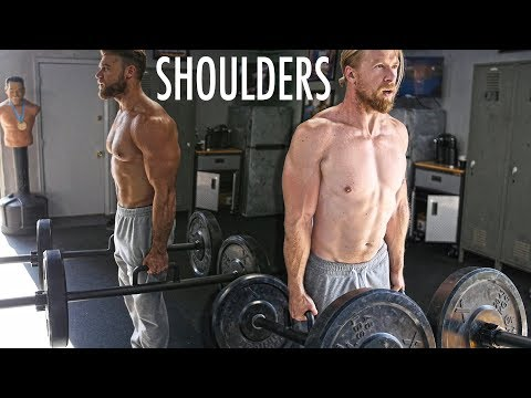 SHOULDERS and TRAPS WORKOUT | Buff Dudes New Gym Routine 2019