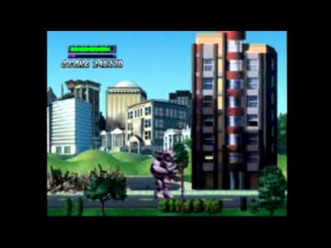 (PS1) Rampage 2: Universal Tour All Global Levels