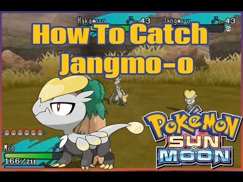 How To Catch JANGMO-O And HAKAMO-O In Pokemon Sun And Moon!