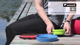 Sea to Summit X-Series Sets 3 Pcs Set with Pouch | Outnorth Demo