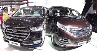 Luxury Chinese MPVs, VANs, JAC M5 VS JAC M4 2016, 2017 model