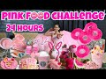 Pink color food challenge for 24 hour || 365Days 365Vlogs Challenge || Shilpa Chaudhary