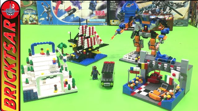 LEGO Factory 5525 Amusement Park - Opening Sealed Set - YouTube