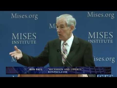 Secession and Liberty | Ron Paul