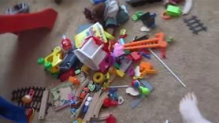 Прибирання в залі від дитячих іграшок   за 10 хвилин   ПРИБИРАЄМО БАРДАК   День Народження Гери